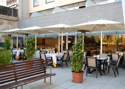 Restaurante con terraza en Barcelona
